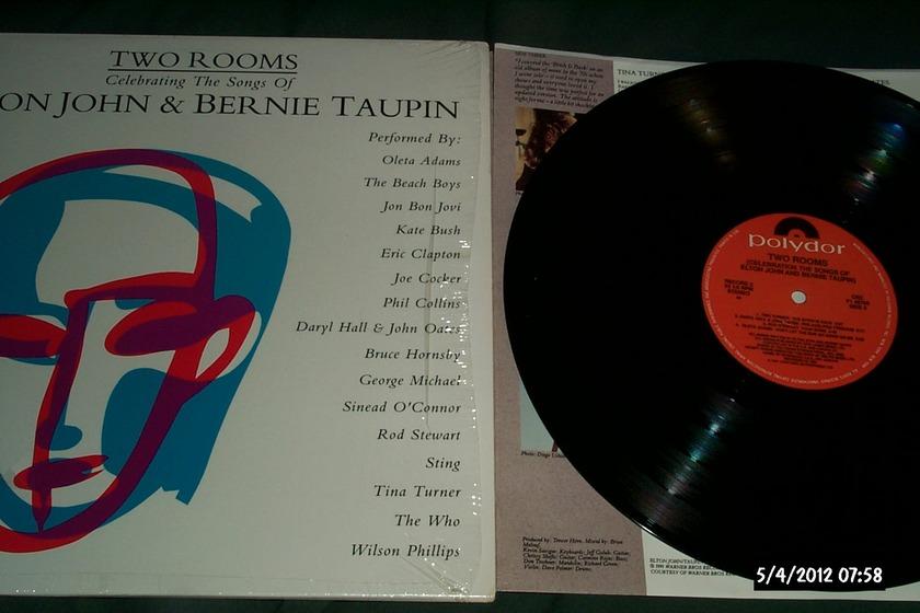 Elton John/Bernie - Taupin 2 Lp set two rooms nm