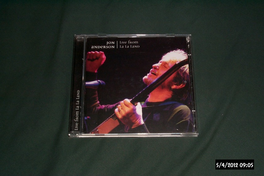 Jon anderson - Live From La La land 2 cd nm