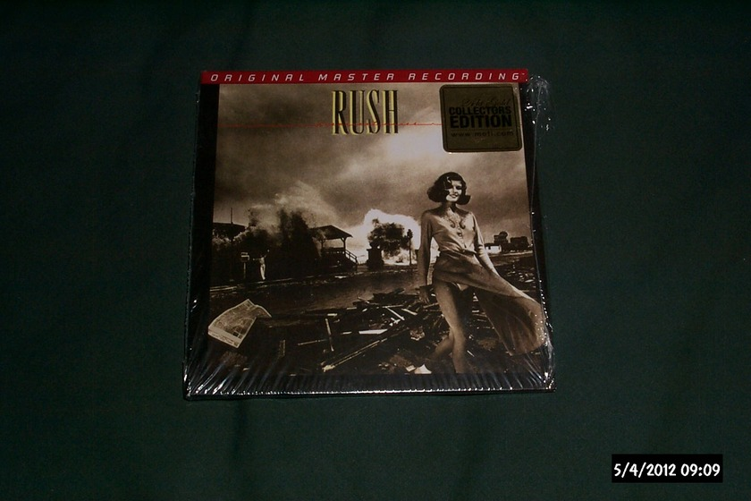 Rush - Permanent Waves mfsl ltd. gold cd nm
