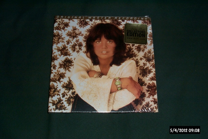 Linda Ronstadt - Don't Cry Now mfsl gold cd audiophile