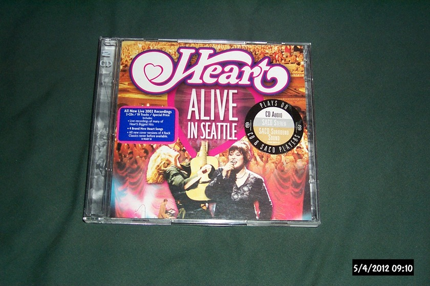 Heart - Alive In Seattle SACD Hybrid NM