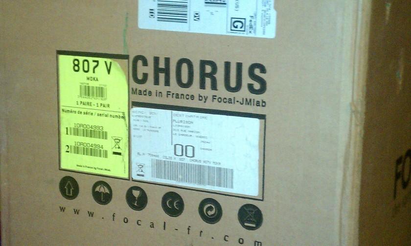 Focal Chorus  807 V
