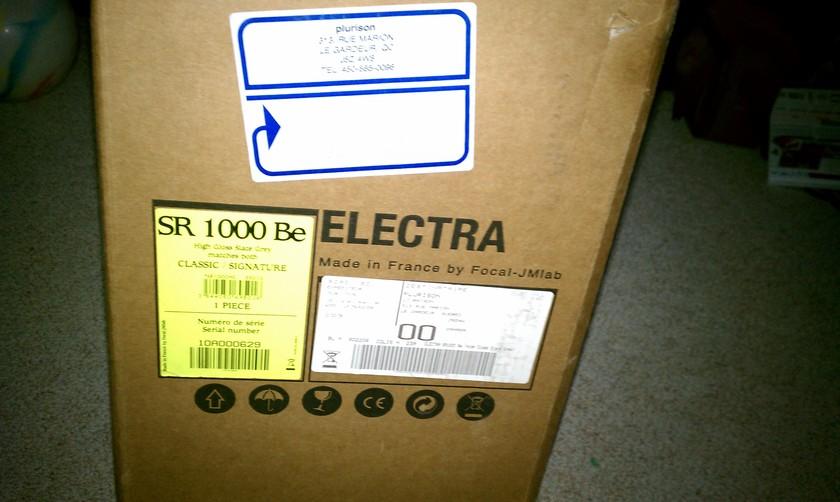 Focal Electra SR1000 Be High Gloss Slate Gray (1) speaker
