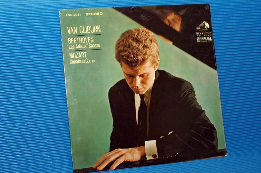 "BEETHOVEN/Cliburn - - ""Les Adieux Sonata"" -  RCA 1966 unopened Promo!"