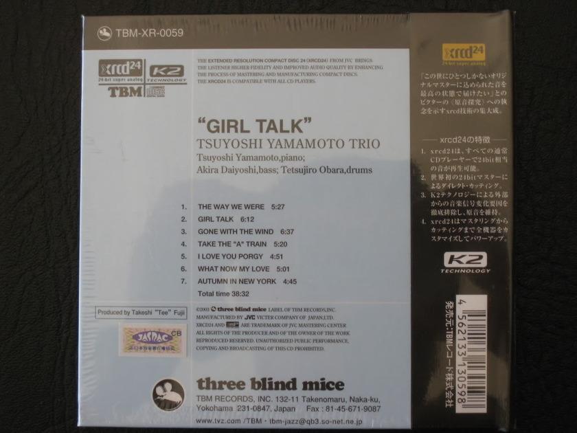 TBM TSUYOSHI YAMAMOTO TRIO - - GIRL TALK -  XRCD24
