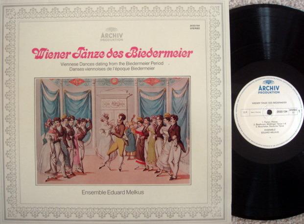 Archiv / MELKUS ENSEMBLE, - Viennese Dances dating from the Biedermeier Period, NM!