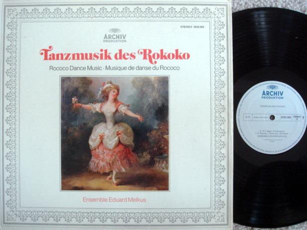 Archiv / MELKUS ENSEMBLE, - Rococo Dance Music, NM!