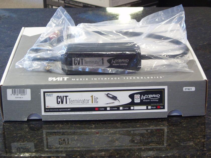 MIT CVT1IC-1 1M pair $700 Regular Price Terminator RCA Interconnect