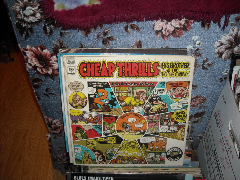 (lec) Big Brother & Holding Co. - Cheap Thrills Columbia LP (c)
