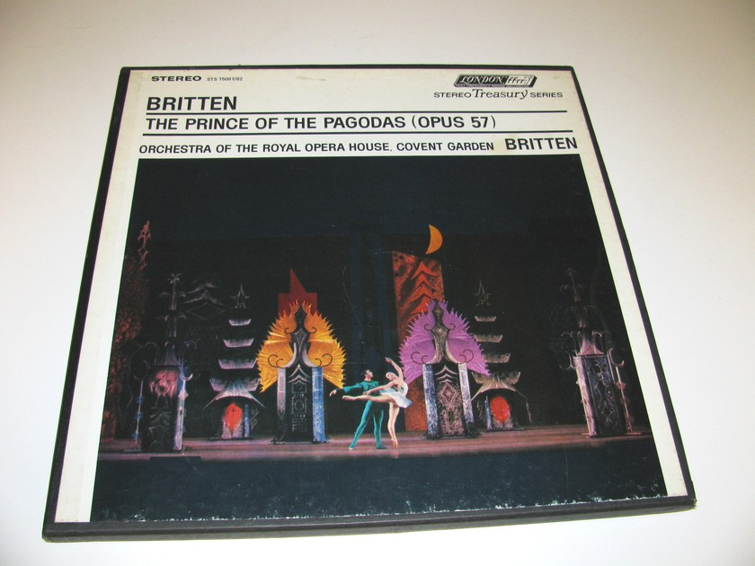THE PRINCE OF THE PAGODA'S - BENJAMEN BRITTEN LONDON STEREO TREASURY BOX SET