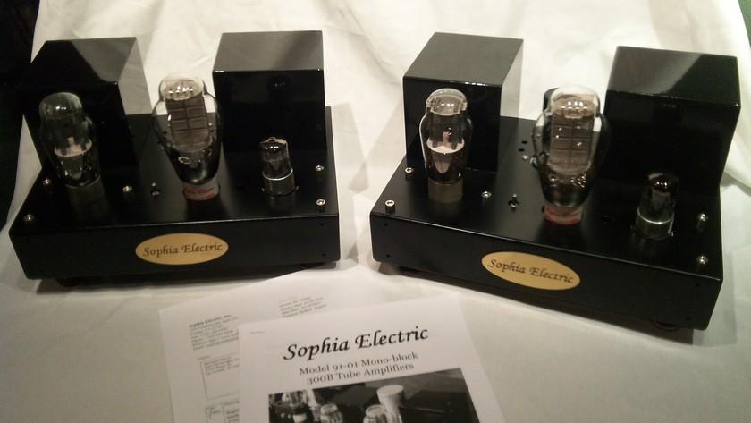 Sophia Electric 91-01 300B SET Monoblock Amplifiers