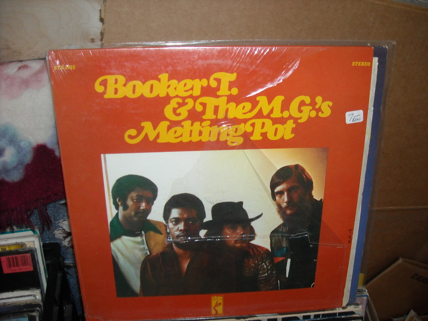 (LEC) Booker T. & The M.G.'s - Melting Pot Stax LP (c)