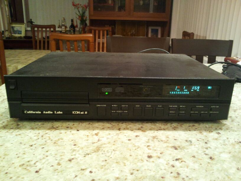 California Audio Labs Icon MK II with HDCD Power Boss Upgrade Model