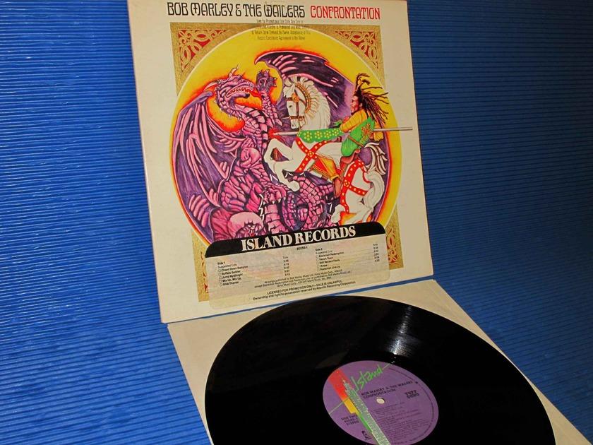 "BOB MARLEY & THE WAILERS -  - ""Confrontation"" -  Island 1983 DJ/Promo w/Timing Strip"