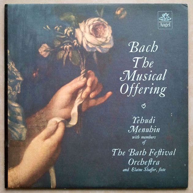 ANGEL BLUE | MENUHIN/BACH - The Musical Offering / NM