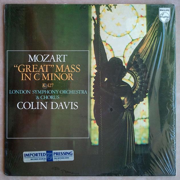 PHILIPS | DAVIS/MOZART - Great Mass in C minor K.427 / 2-LP / NM