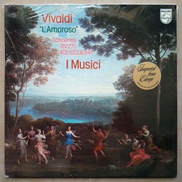 PHILIPS | I MUSICI/VIVALDI - L' amoroso, Concertos RV.271, 401, 523, 547 / NM