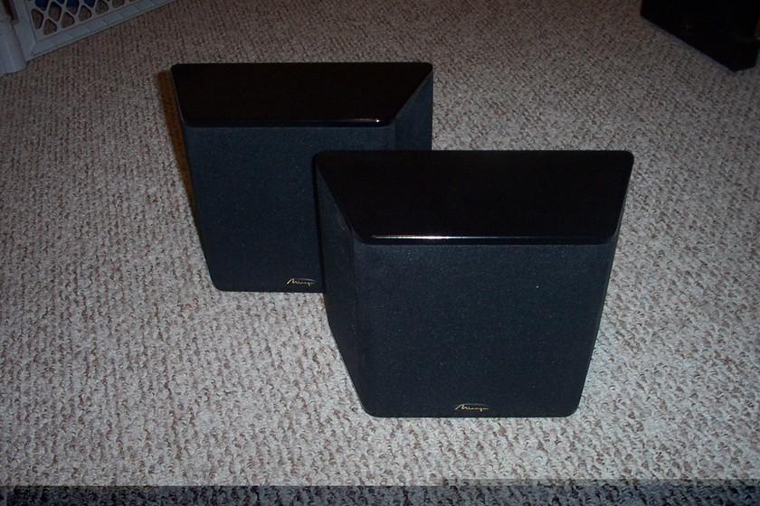 Mirage Surround Speakers OM-R2HB Piano Finish