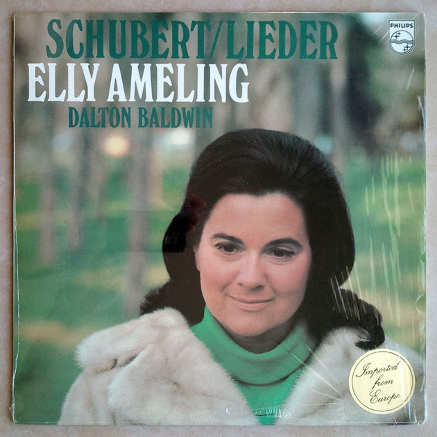PHILIPS | ELLY AMELING/SCHUBERT - Lieder