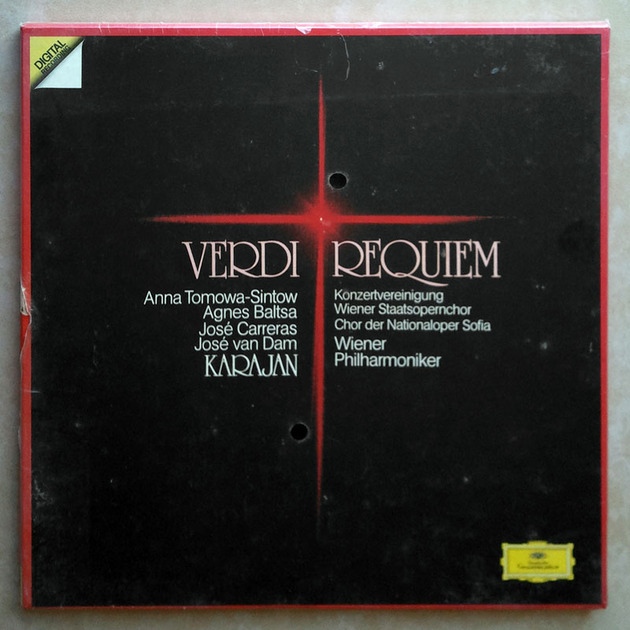Sealed DG Digital | KARAJAN/VERDI - Requiem / 2-LP Box Set