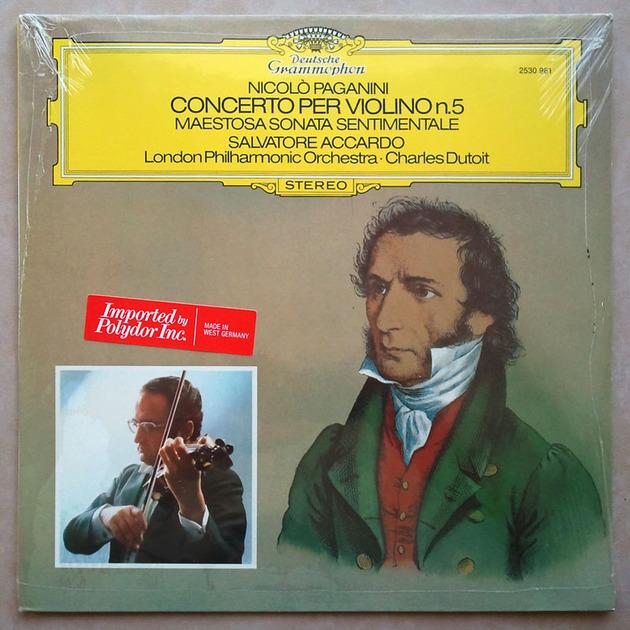 Sealed DG | ACCARDO/DUTOIT/PAGANINI - Violin Concerto No. 5