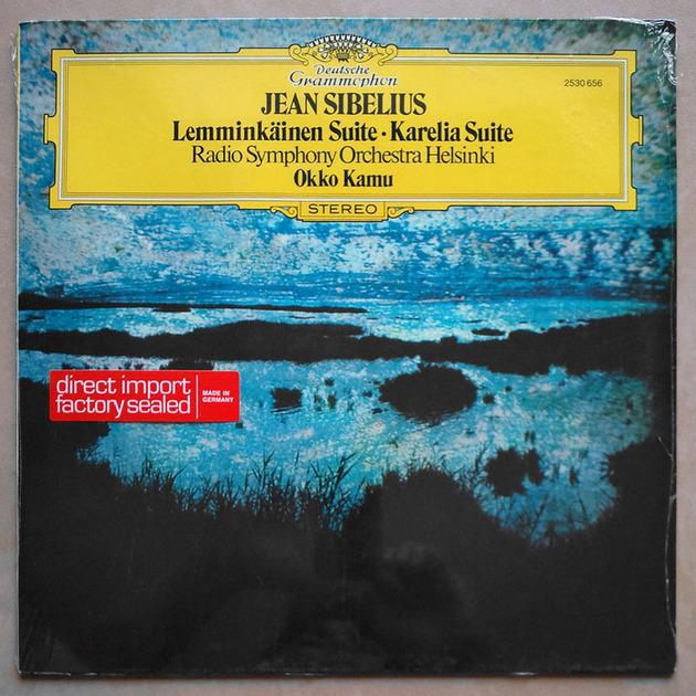 Sealed DG | OKKO KAMU/SIBELIUS - Lemminkainen Suite, Karelia Suite