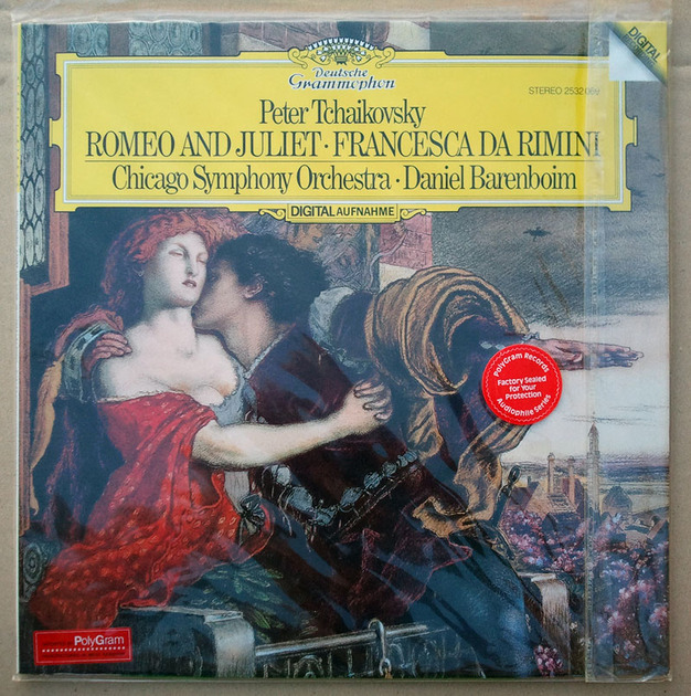 Sealed DG Digital | BARENBOIM/TCHAIKOVSKY - Romeo & Juliet, Francesca da Rimini