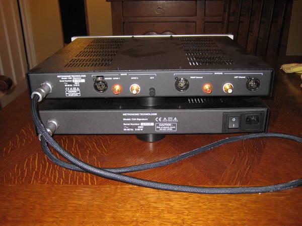 Metronome C2A 2 box tube output DAC