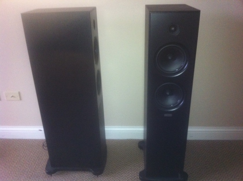 Epos Epic 5 loudspeakers like new-- incredibly musical and engaging! Like new condition!