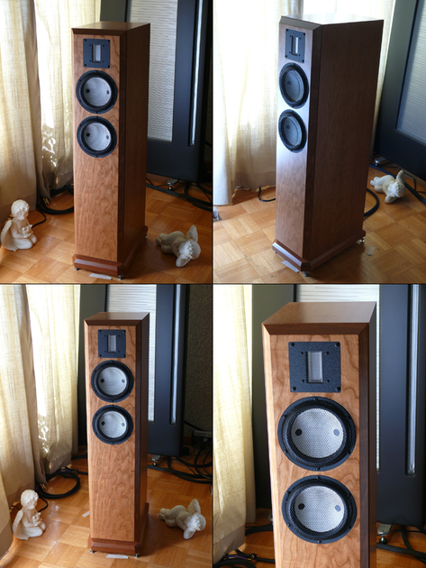 Clearwave speakers Symphonia 72R   New 6 Moons Review!   Accuton/raal heaven!