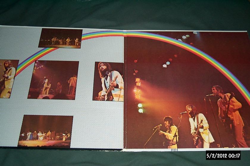 Eric Clapton - Rainbow Concert lp nm gatefold cover