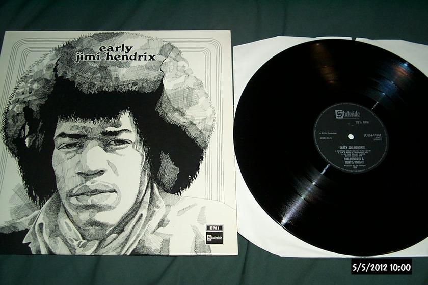 Jimi Hendrix - Early Jimi Hendrix emi stateside uk lp nm