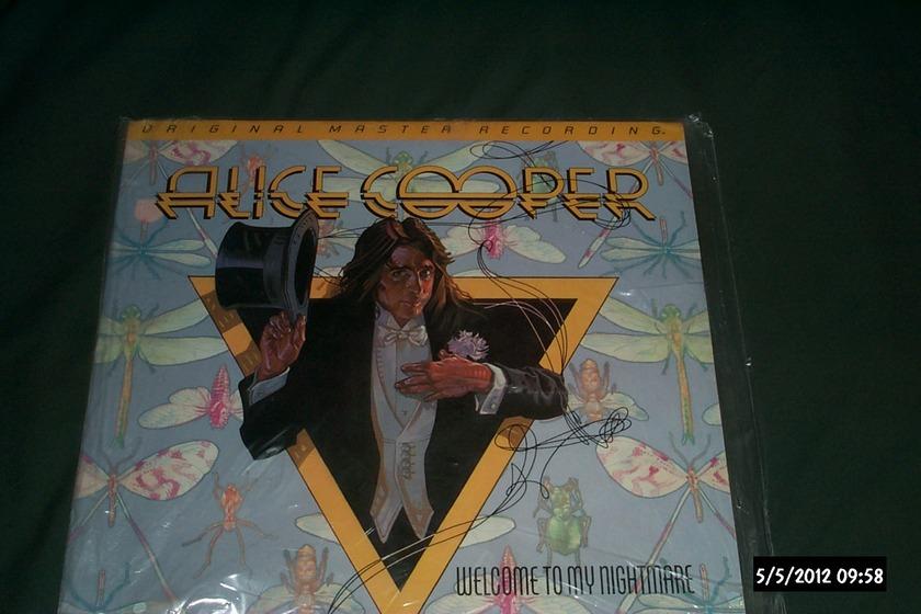 Alice Cooper - Welcome To My nightmare mfsl audiophile lp