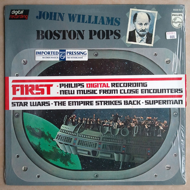 Sealed PHILIPS Digital | JOHN WILLIAMS - - FIRST Philips Digital Recording