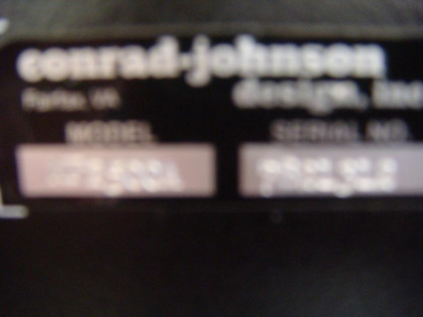 CONRAD JOHNSON MF-2500A BIG POWER PLEASE READ AD