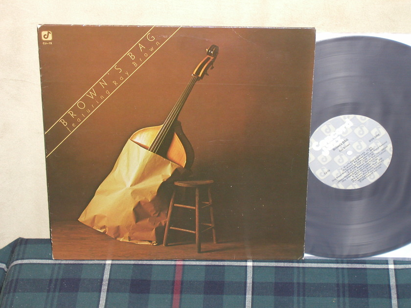 Ray Brown Trio - Brown's Bag Concord Jazz CJ-19