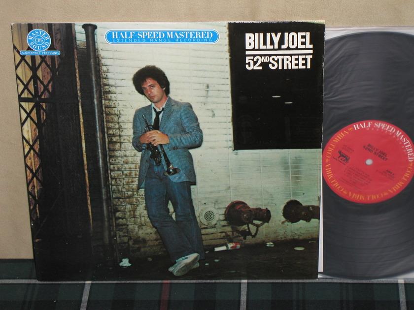 Billy Joel          52nd Street - Columbia Mastersound Half Speed Mastered