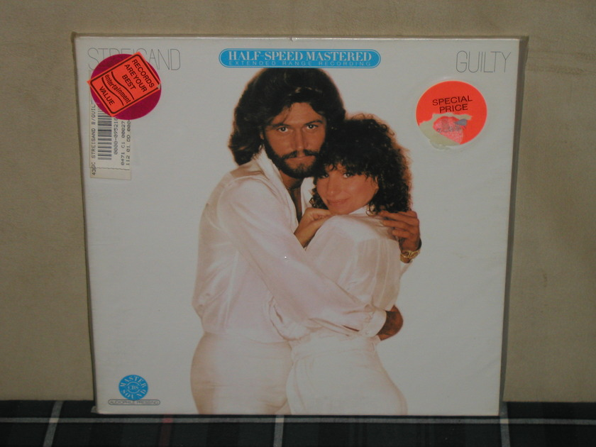 Barry Gibb/Barbra Steisand - Guilty HALF SPEED SEALED Still sealed from 1981