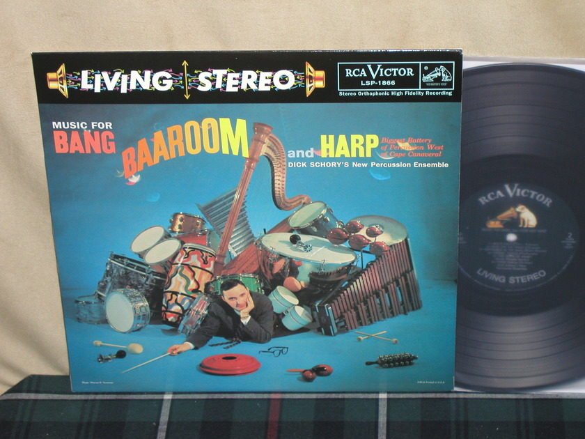 Dick Schory's New Percussion - Music For Bang Baaroom/Harp Classic 180g