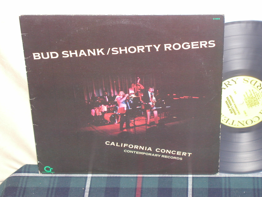 Bud Shank/Shorty Rogers - California Concert Contemporary C -14012