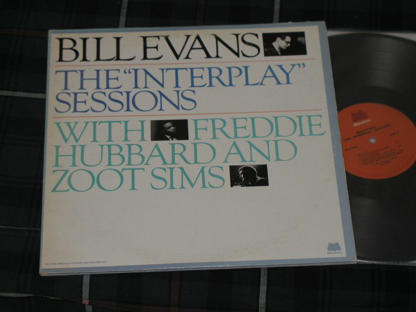 Bill Evans/Freddie Hubbard/Zoot Sims - The Interplay Sessions 2LP set with outtakes!