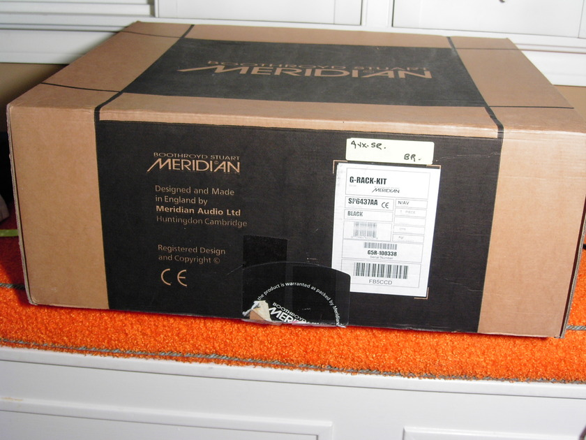Meridian G series rack kit  new never used