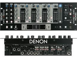 Denon DN-X500 4 CH DJ Mixer