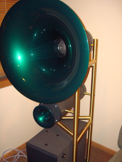 Avantgarde Duo 3.1 Customized Horn Speakers