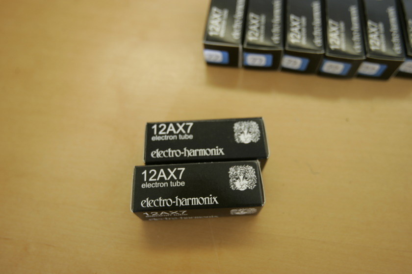 Electro Harmonix 12AX7 4 Matched Pairs Perfect Match