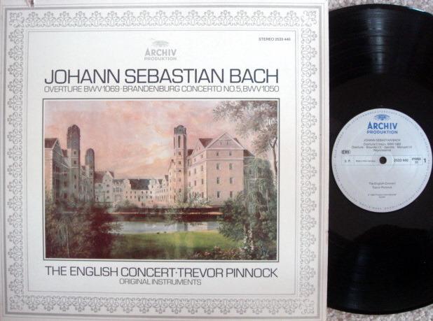 Archiv / PINNOCK, - Bach Brandenburg Concerto No.5, NM!