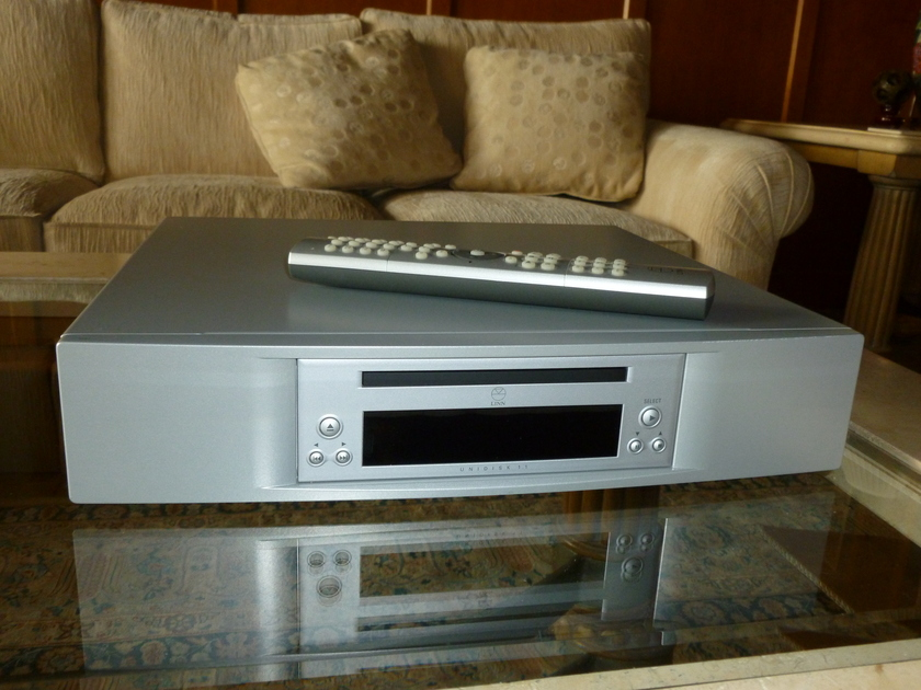 Linn Unidisk 1.1 (silver) Reference CD/SACD/DVD Audio/DVD Player