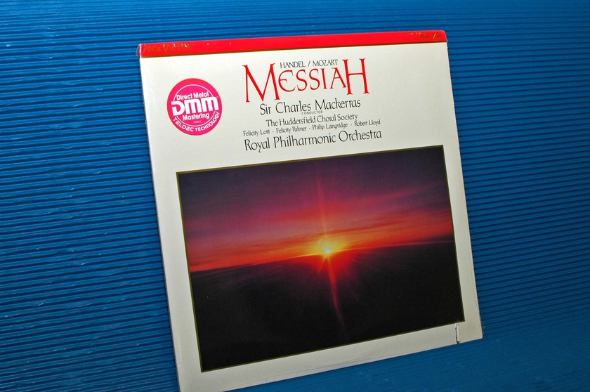 "HANDEL/MOZART/Mackerras -  - ""Messiah"" -  RCA 1988 Direct Metal Mastering Sealed"