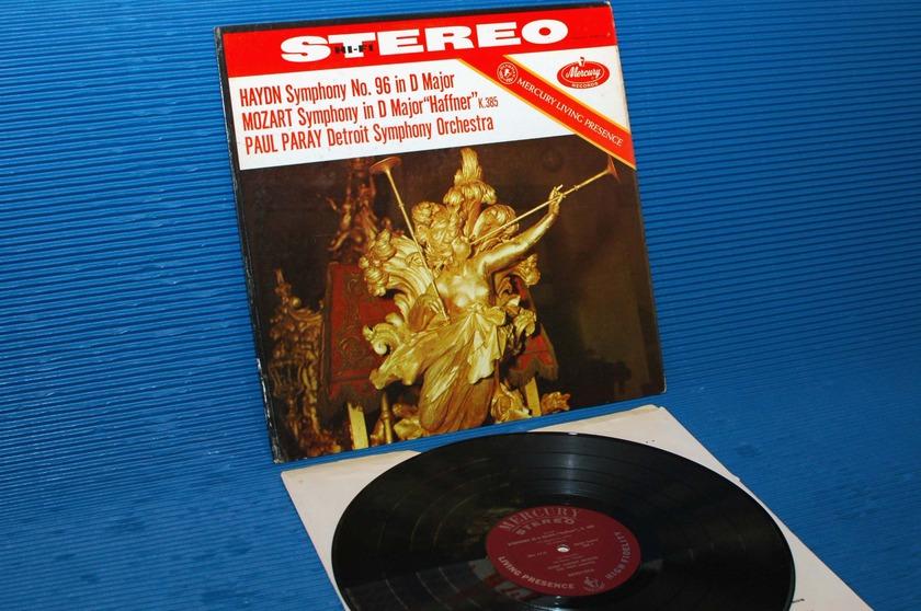 "HAYDN/MOZART/Paray - - ""Symphony 96 & D Major (Haffner) - Mercury Living Presence 1960 very early pressing"