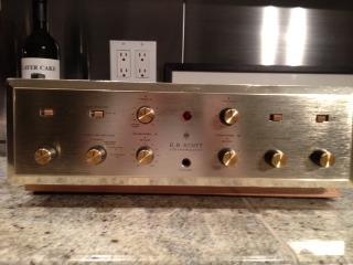 Mapleshade Scott 222C modded tube integrated amp
